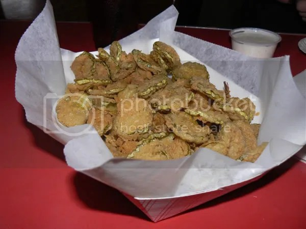 fried pickles @ penguin drive in
