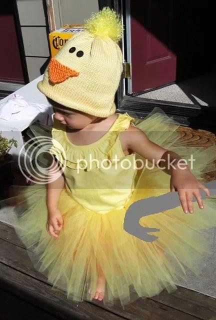 duck, tutu, crowbar