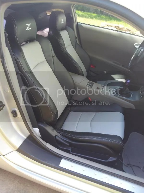 350Z Genuine Amp Synthetic Leather Interior PKGS Nissan