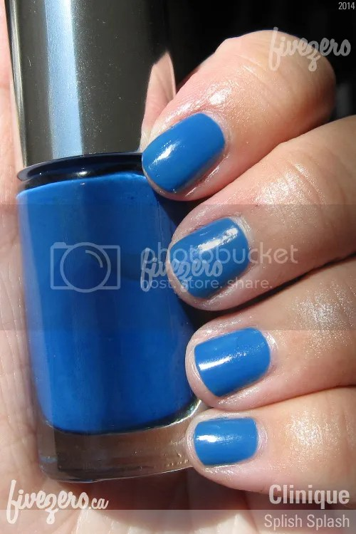Clinique A Different Nail Enamel in Splish Splash swatch