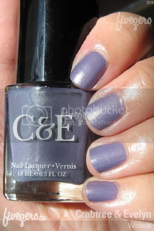 Crabtree and Evelyn Nail Lacquer in Wisteria, swatch