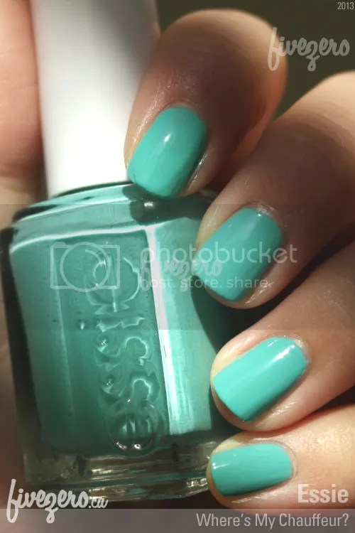 Essie Nail Polish in Where's My Chauffeur?, swatch