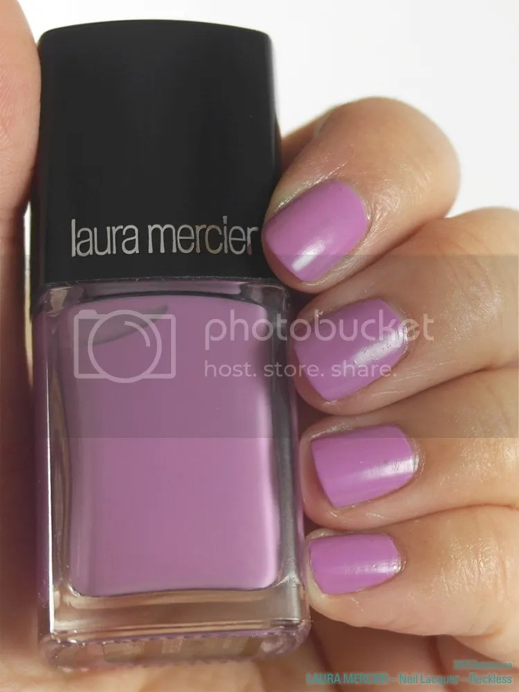 Laura Mercier Nail Lacquer in Reckless, swatch