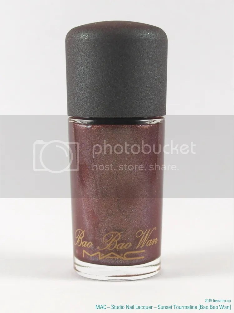 MAC Studio Nail Lacquer in Sunset Tourmaline (Bao Bao Wan)