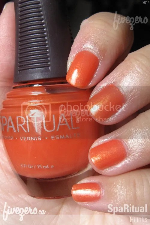 SpaRitual Nail Lacquer in Hijinks, swatch