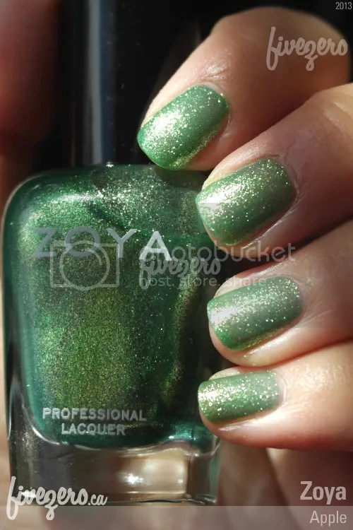 Zoya Professional Lacquer in Apple, swatch