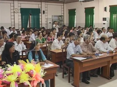 Lễ tiễn ứng viên Mêkông 1000 đi học nước ngoài