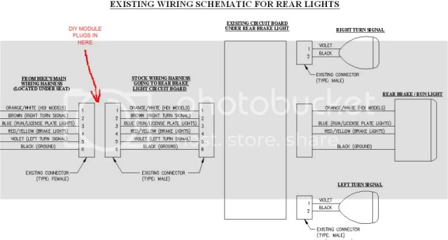 Harley Davidson Handlebar Wiring Diagram | hobbiesxstyle on