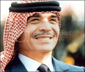 His Majesty King Hussein