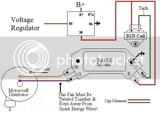 Converting Duraspark Module To GM HEI
