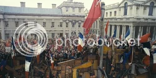 Les Misérables le barricate