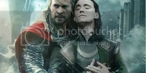 thor loki abbraccio