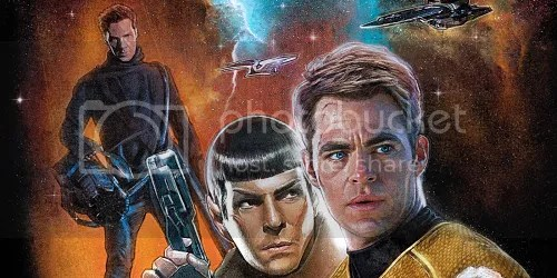 star trek into darkness illustrazione