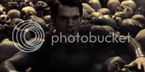 man of steel superman skulls
