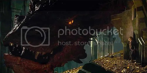 lo hobbit smaug bilbo