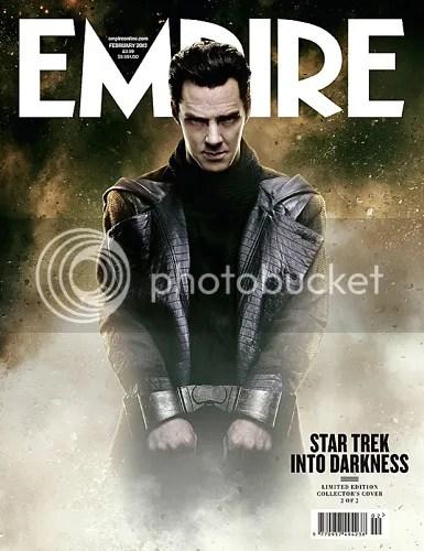 Benedict Cumberbatch manette star trek