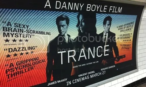 Trance poster tube
