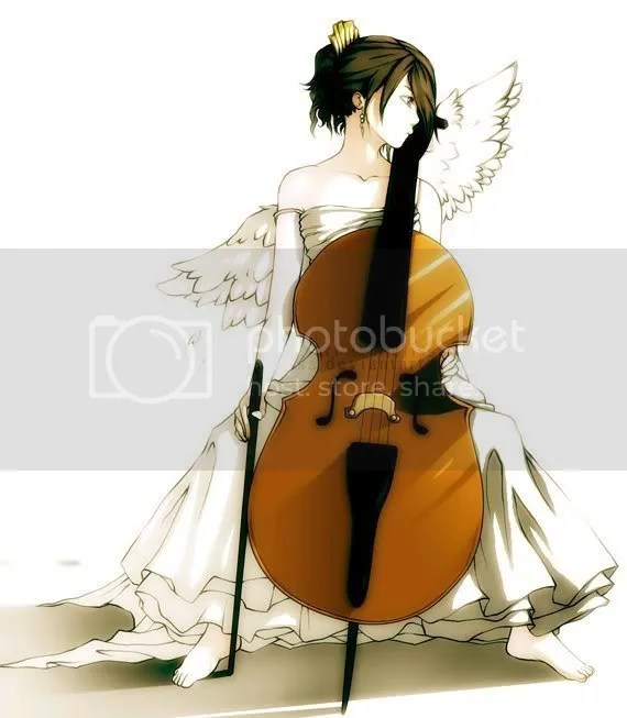 Image result for anime girl cello