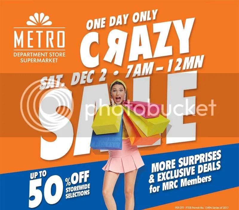 The Metro Stores Crazy Sale 2017