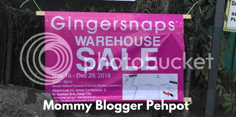 Paano Pumunta Sa Gingersnaps Warehouse Sale 2018