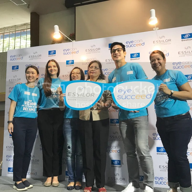 Piolo Pascual Eye Can Succeed Event
