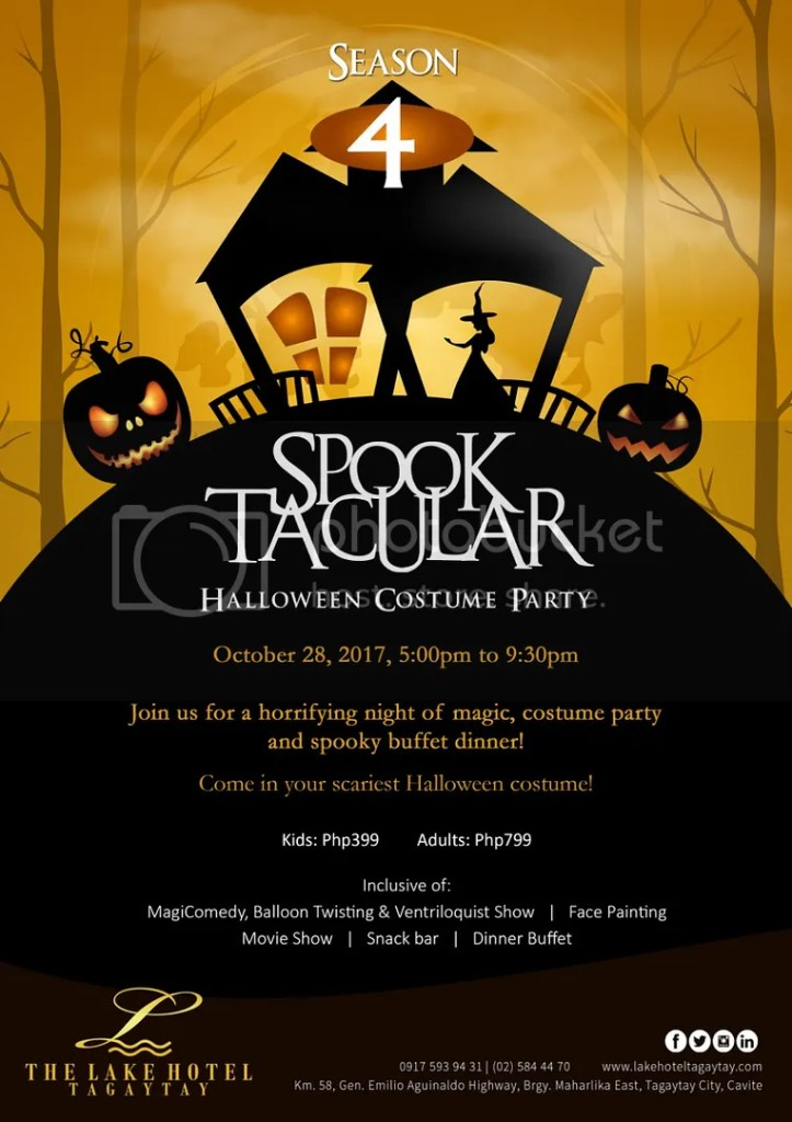 2017 Tagaytay Halloween Events