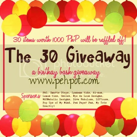 The 30 Giveaway