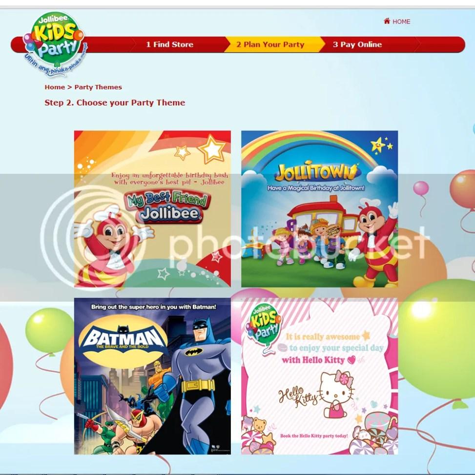 Jollibee Hello Kitty Party Theme Mommy Pehpot