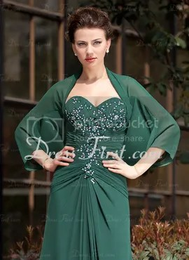 green wrap homecoming gown