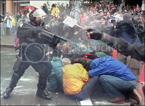 tear gas launcher