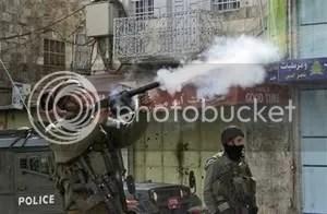 IDF fires tear gas