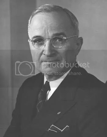 President Harry S. Truman, November 1945