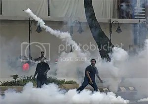 tear gas malaysia