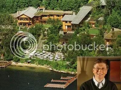 bill gates Mengintip Rumah Kekayaan Bill Gates