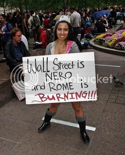 Occupy Wall Street hottie