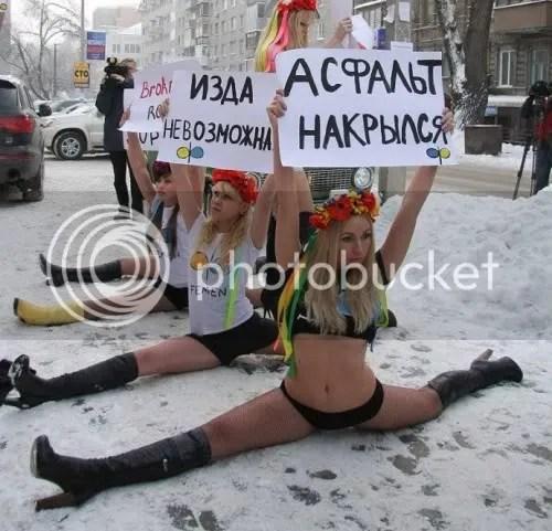 naked feminists