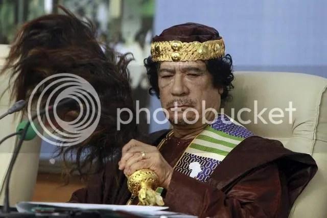 gadhafi accessorises