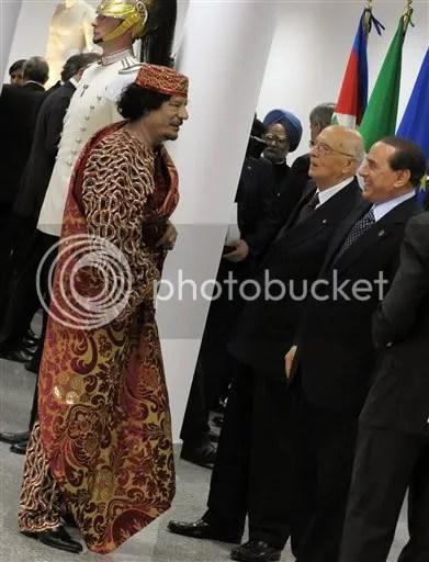 gadhafi curtains