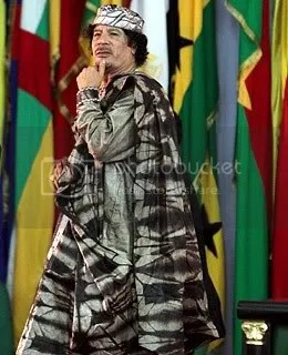 gadhafi fashion