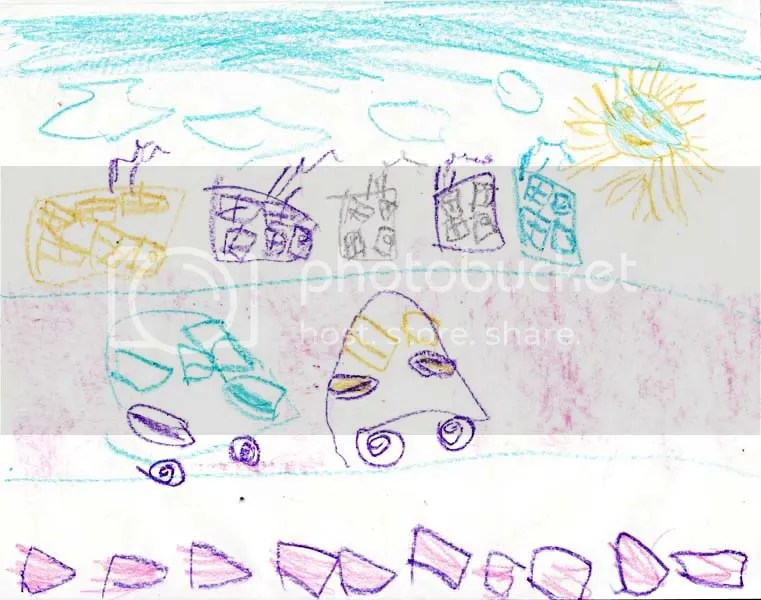 5-year-old drawing