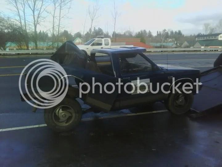 My poor truck!