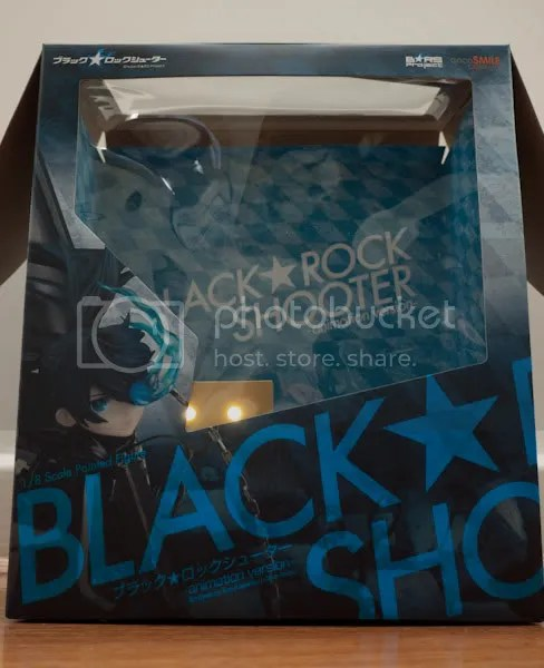 Black Rock Shooter's giant box