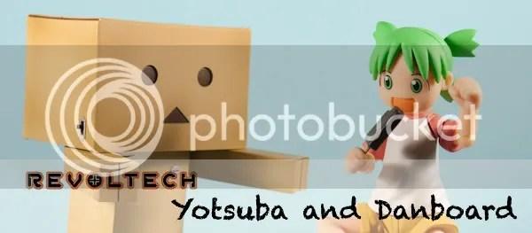 Revoltech Yotsuba and Danboard