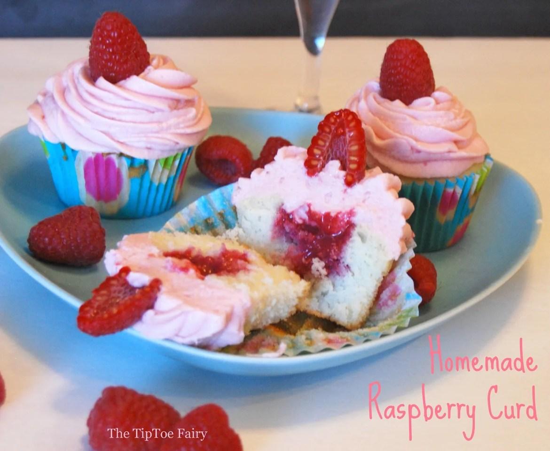 Homemade Raspberry Curd