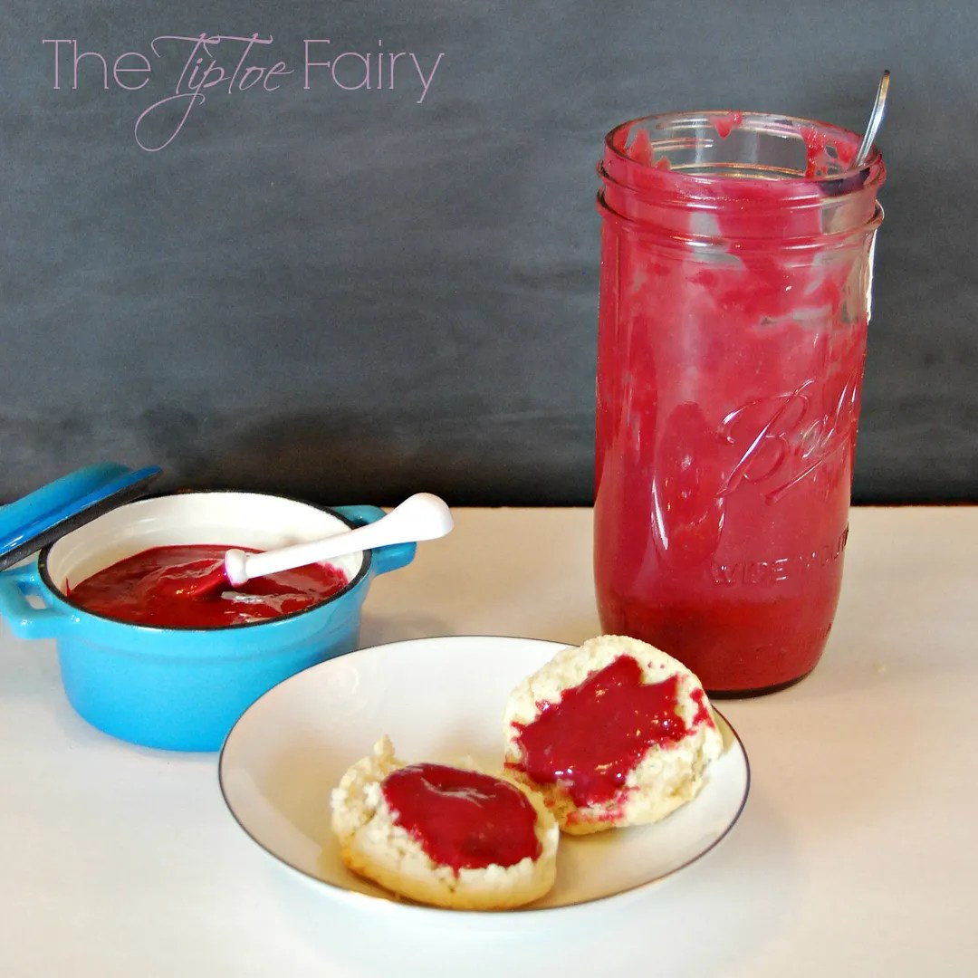 Homemade Raspberry Curd | The TipToe Fairy