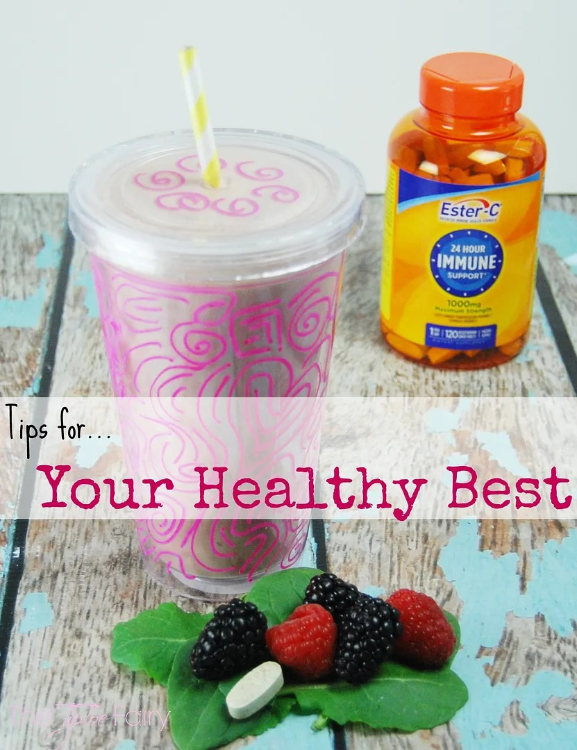 Check out my Superfoods Smoothie! Being a mom is a 24/7 job that needs 24/7 immune support. That's why I use @OfficialEsterC!* | The TipToe Fairy #24HourEsterC #ad