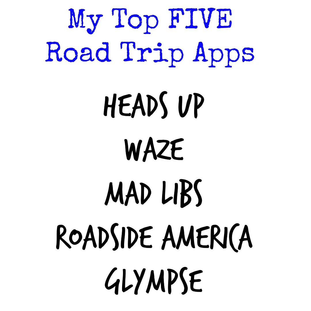 Top FIVE Road Trip Family Apps | The TipToe Fairy #DropShopAndOil #ad