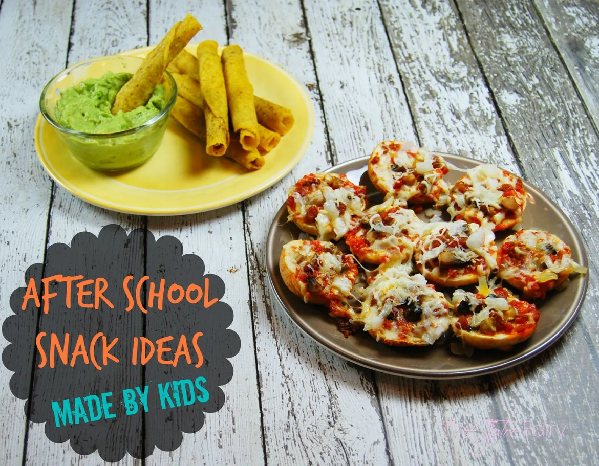 After School Snacks Made by Kids | The TipToe Fairy #afterschoolsnacks #shop #cbias #snacks #diprecipes