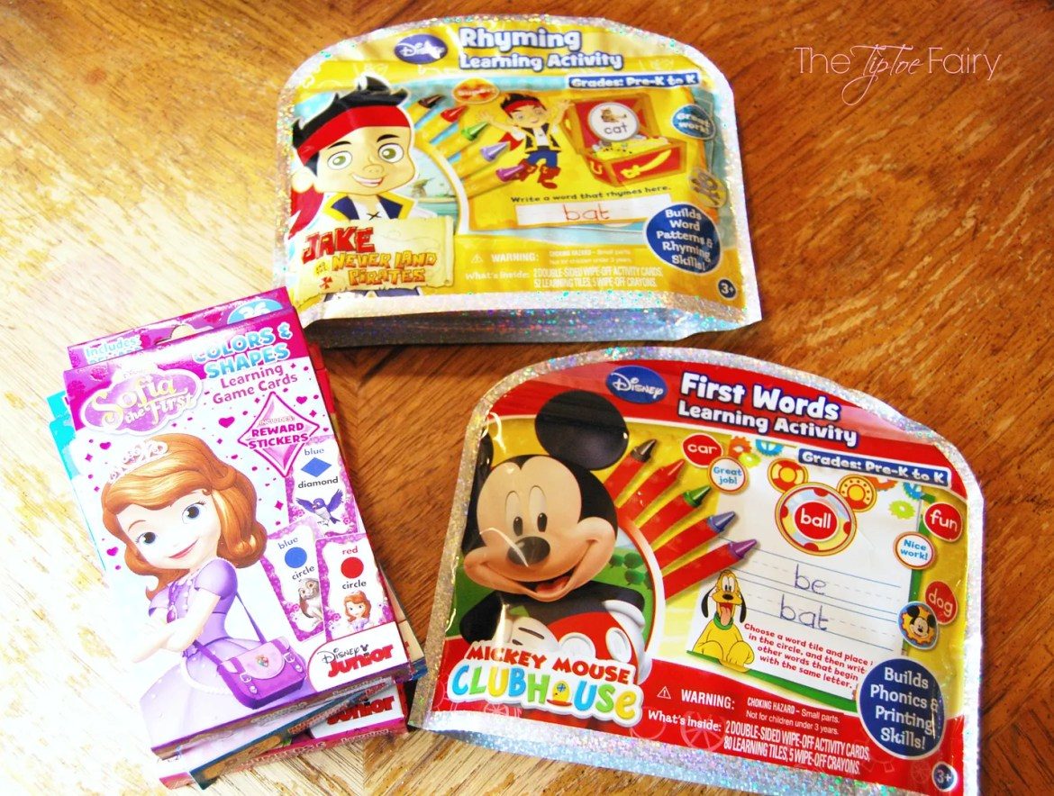 #Ready4Preschool with Disney Junior | The TipToe Fairy #shop #cbias #preschool #kidsactivities