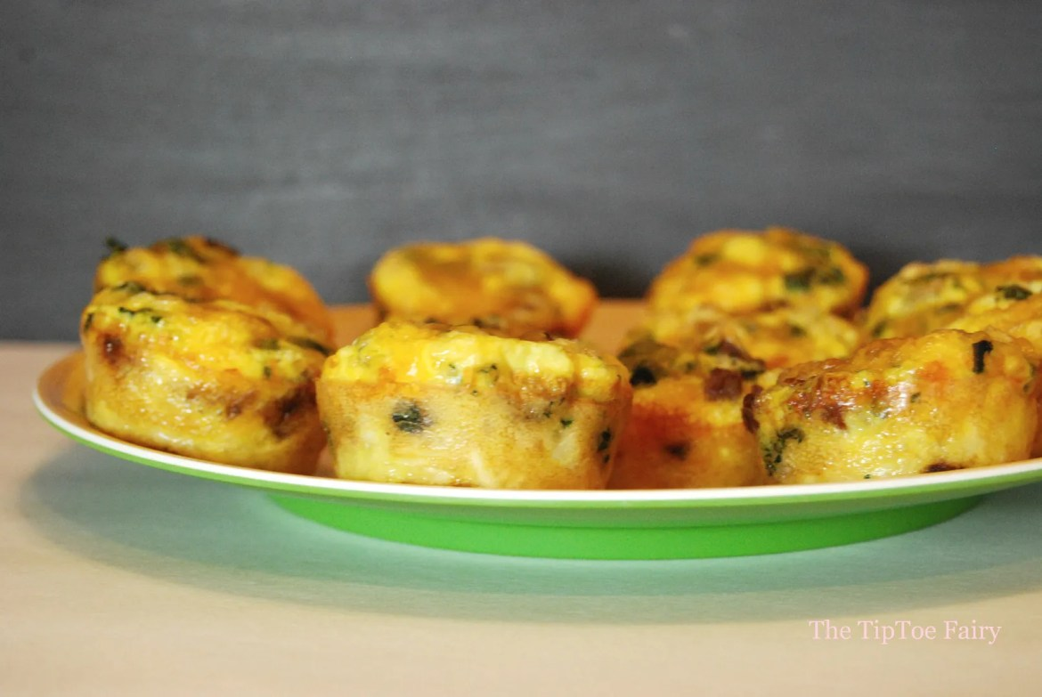 Breakfast Mini Quiche #TheWrightBreakfast #ad #cbias